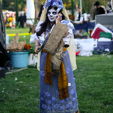 Dia de Los Muertos #17, Canon EOS DIGITAL REBEL XT, Canon EF-S 18-200mm f/3.5-5.6 IS