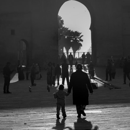 To the large door, Canon EOS 60D, Canon EF 80-200mm f/4.5-5.6