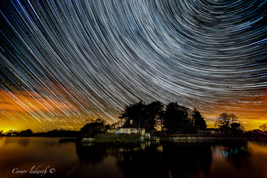 Photograph The Milky Way Time Lapse by conor ledwith on 500px