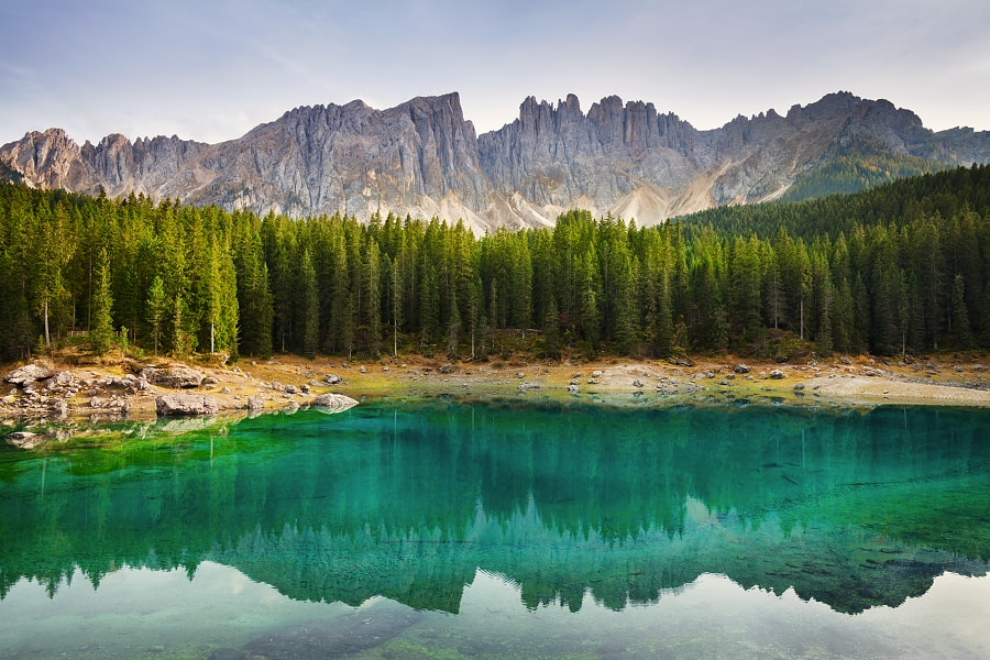Photograph Evening at Lago di Carezza by Daniel Řeřicha on 500px