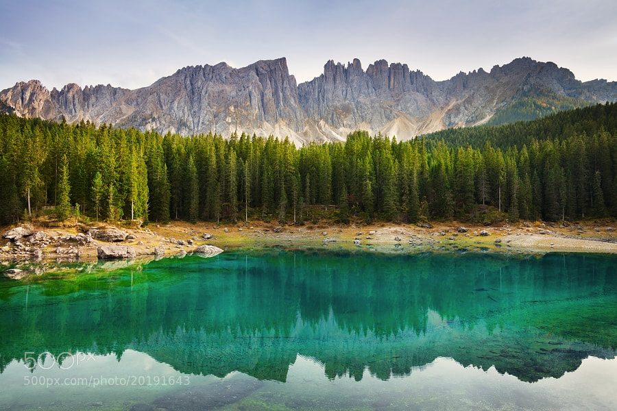 Photograph Evening at Lago di Carezza by Daniel Řeřicha on 500px