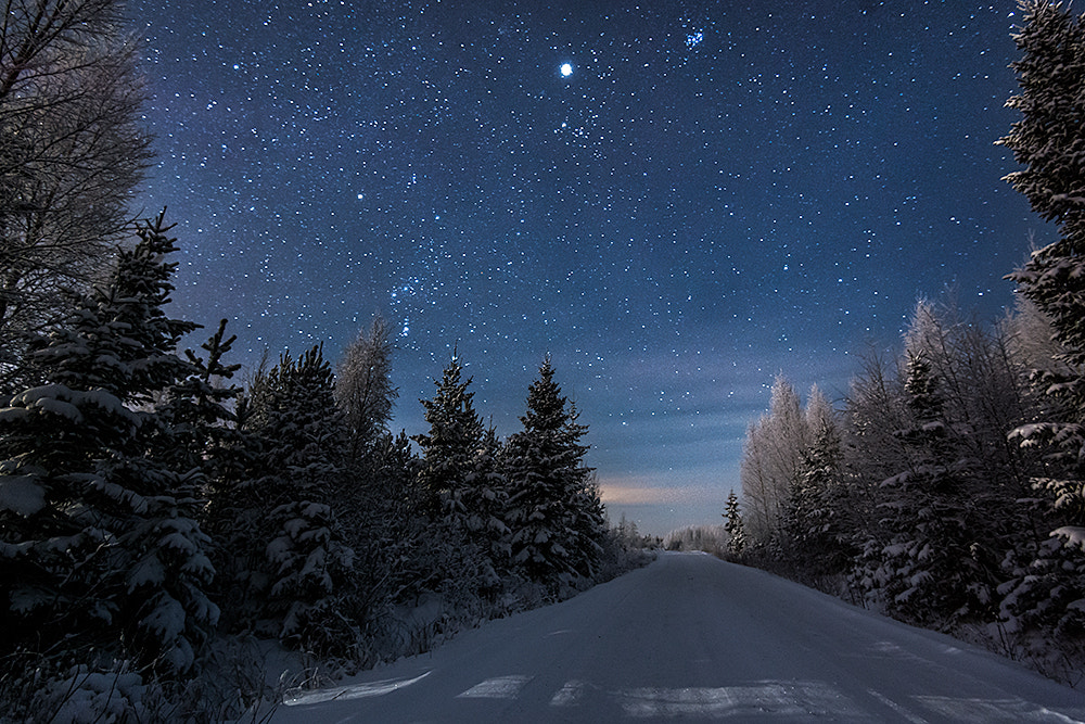 Photograph Blue Night by Mikko Lagerstedt on 500px