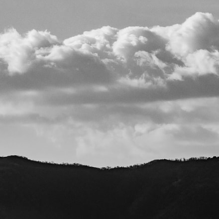 cloud and mountain, Canon EOS 5DS R
