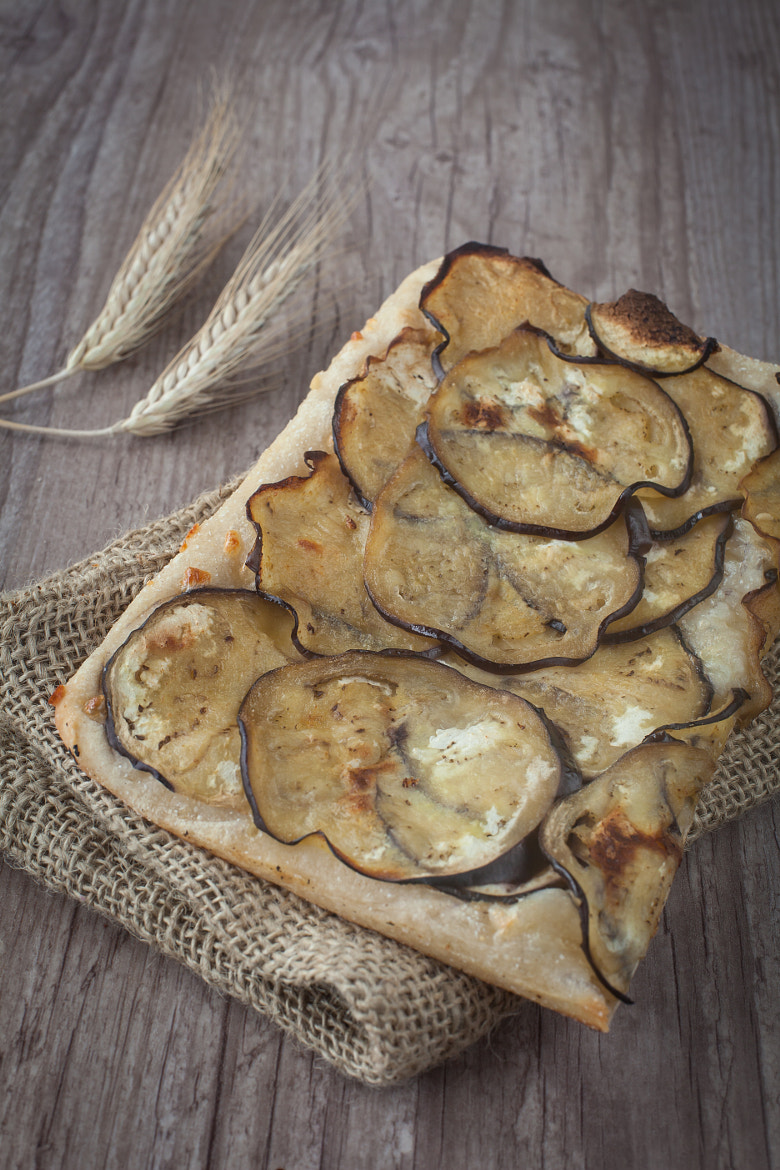 Photograph Sliced pizza with eggplants by Sabino Parente on 500px