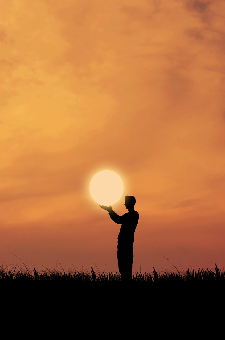 Photograph sun in my hands by Adrian Limani on 500px