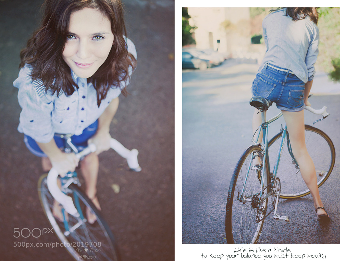 Photograph Riding a Bicycle by Polina Rabtseva on 500px