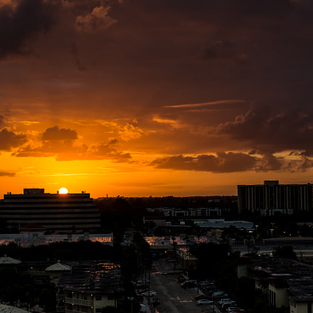 North Miami Sunset
