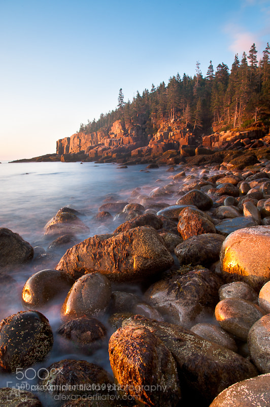 Photograph Dawn at Boulder Beach by Alex Filatov | alexfilatovphoto.com on 500px