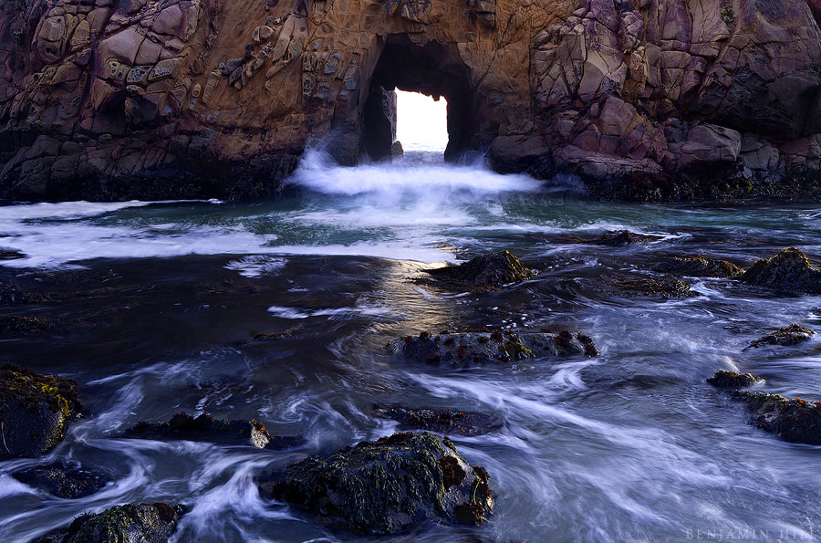 Photograph Doorway to the Pacific  by Benjamin Hill on 500px