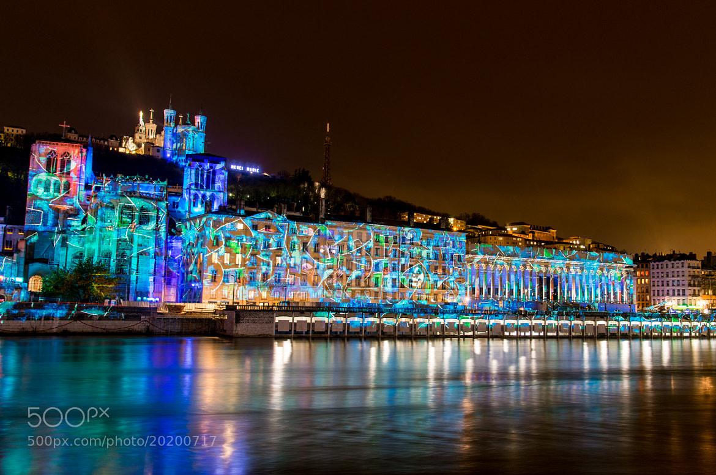 Photograph Light Festival - LA FETE DES LUMIERES 2012 - LYON - FRANCE by Julien REBOULET on 500px