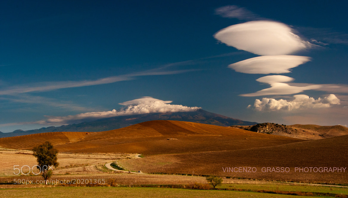 Photograph Clouds on Etna 2 by Vincenzo Grasso on 500px