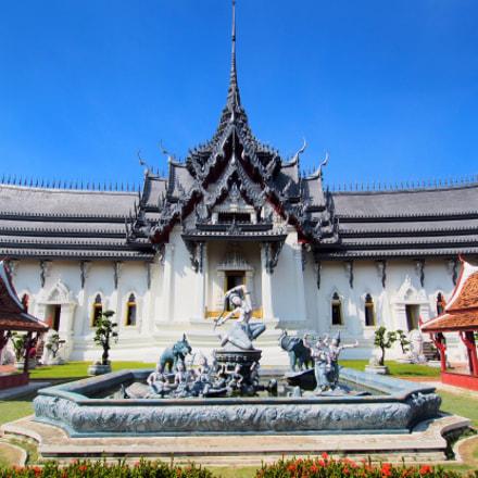 Temple replica