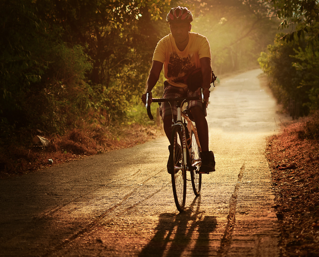Photograph THE CYCLIST by yogesh waikul on 500px