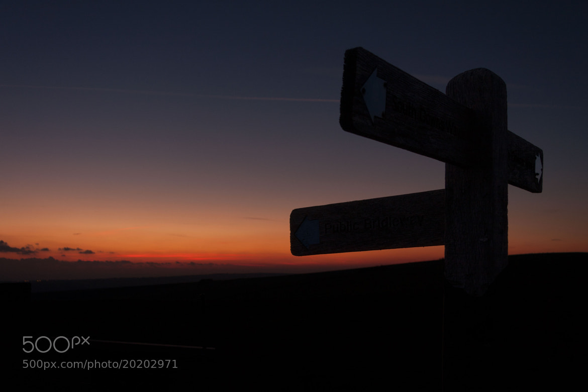 Photograph Sunset at Firle Beacon by David Asch on 500px