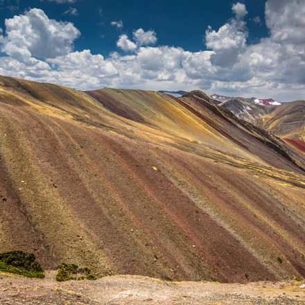 Rainbow Mountain Cusco Peru, Canon EOS 5D MARK III, Tamron SP AF 17-35mm f/2.8-4 Di LD Aspherical IF