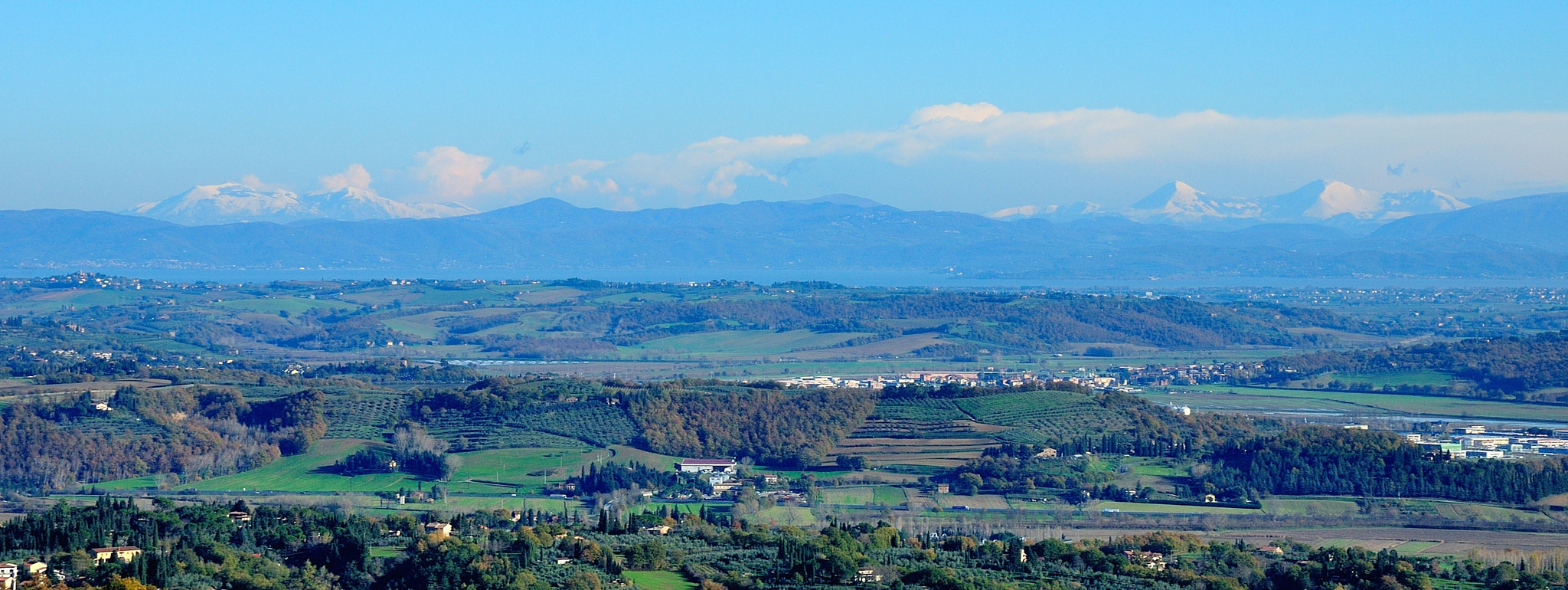 Photograph Three Italian regions: Tuscany, Umbria and Marche... by Renato Pantini on 500px