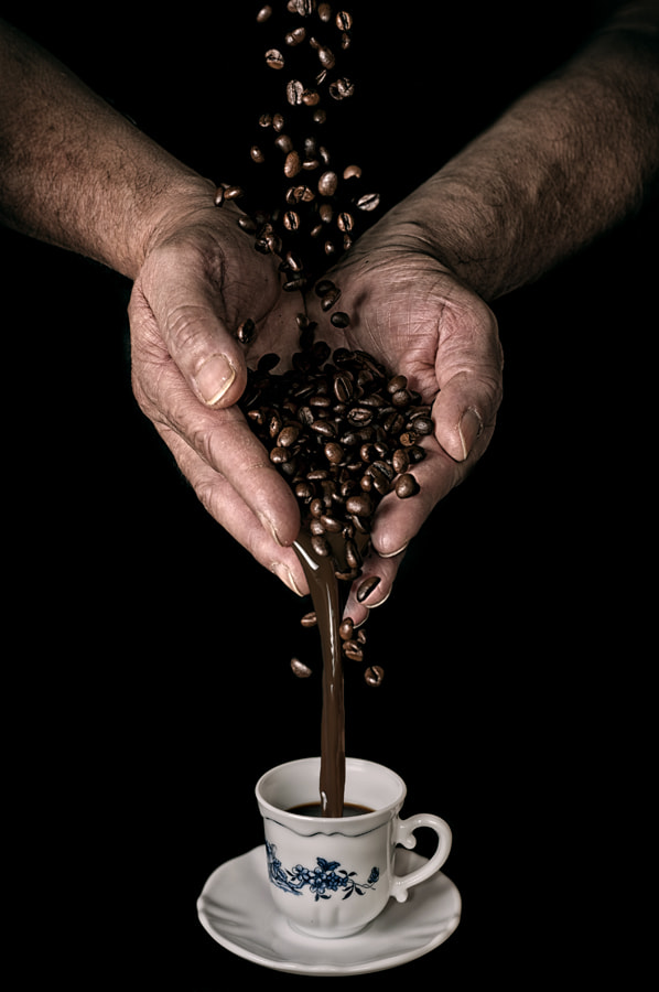 Photograph Making the coffee by László Gál on 500px