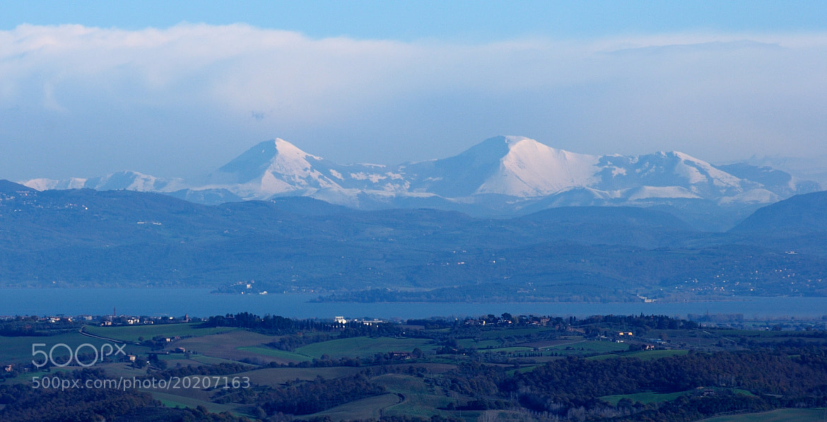 Photograph Lake Trasimeno and Apennines... by Renato Pantini on 500px