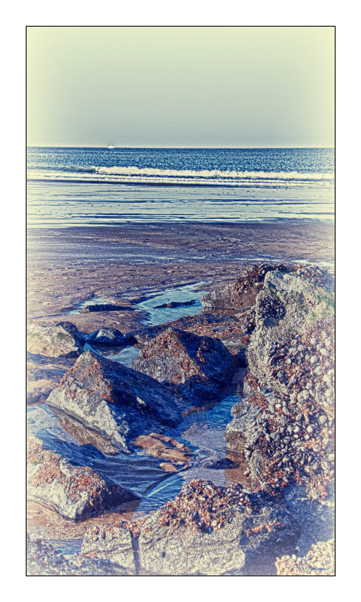 Photograph Rocks, sand and water by Frank Amez on 500px