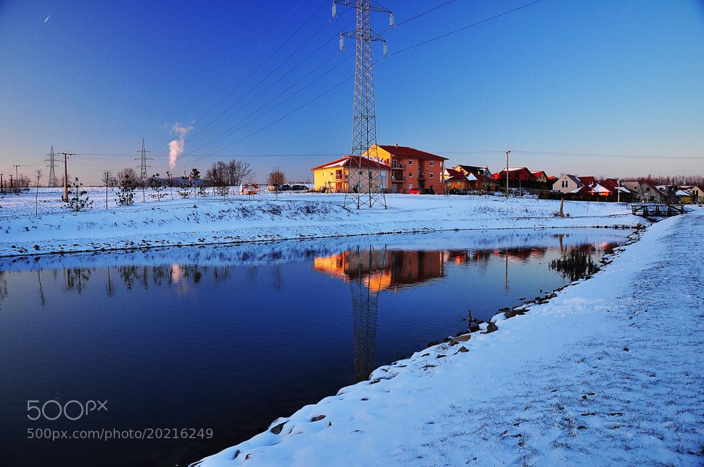 Photograph Blue winter by János Kovács on 500px
