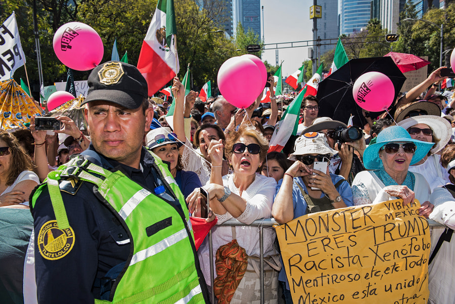 "Citizen's March for the Respect of Mexico"" in Mexico City by Ryan Christopher Jones on 500px.com"