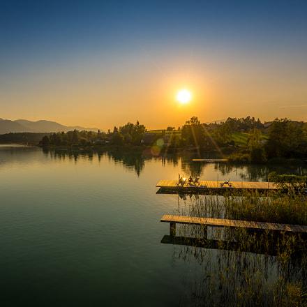 Faaker See, Last Sun