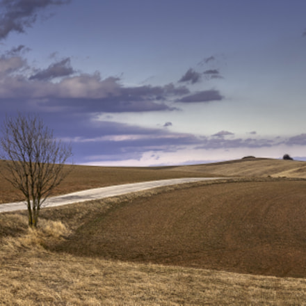 Winding road, Canon EOS 5D, Canon EF 70-210mm f/3.5-4.5 USM