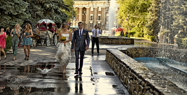Photograph - Wedding promenade - by Alexandr Marynkin on 500px