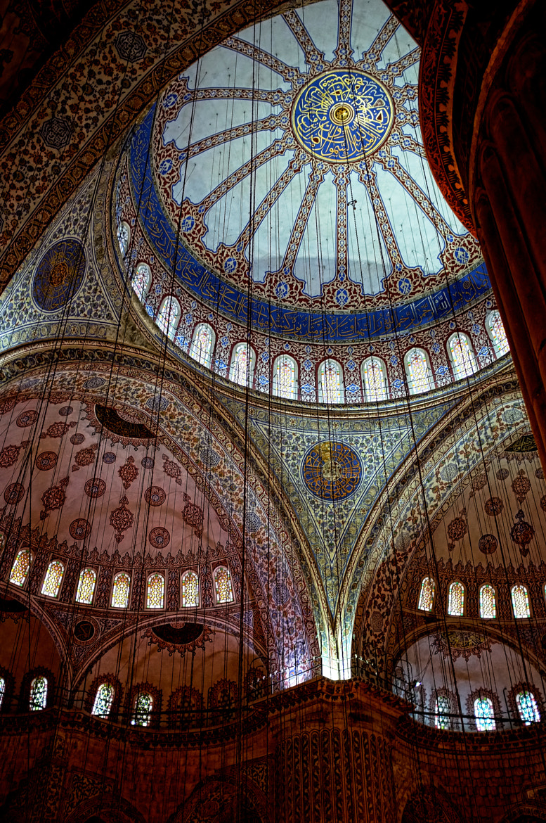 Photograph Blue Mosque Interior by Gregor Lichtfuss on 500px