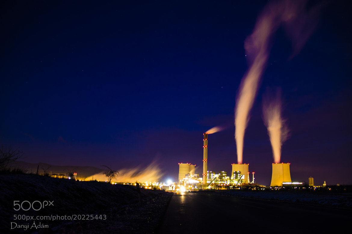 Photograph Timelaps Factory by Ádám Danyi on 500px