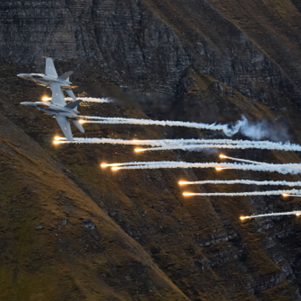 F A-18 Formation with, Nikon D7000, Sigma APO 100-300mm F4 EX IF HSM