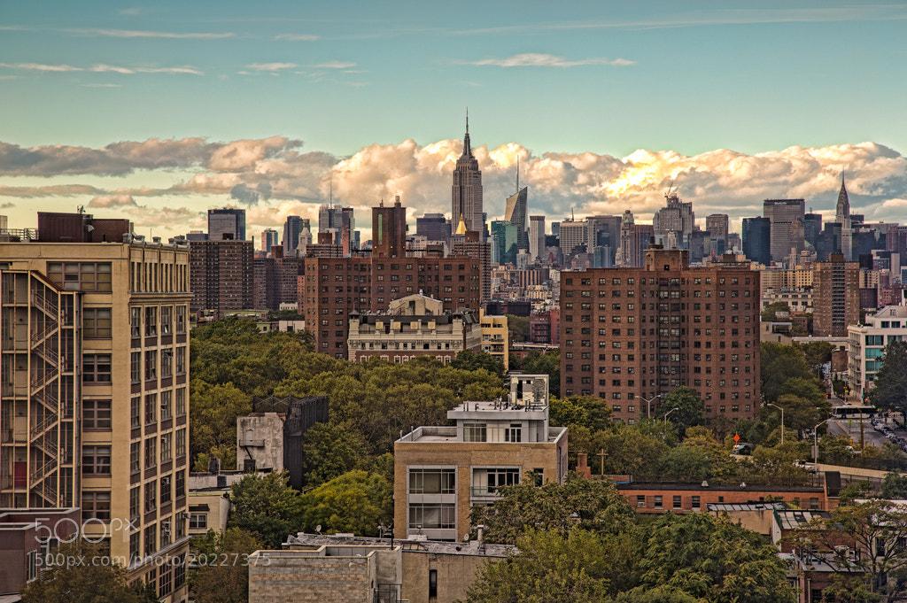 Photograph NYC Skyline by Scott Nelson on 500px