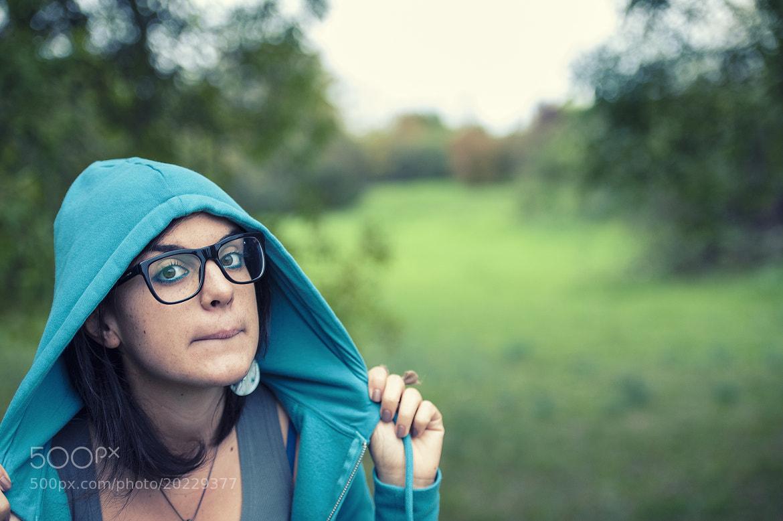Photograph Blue Riding Hood by Mattia Zavalloni on 500px