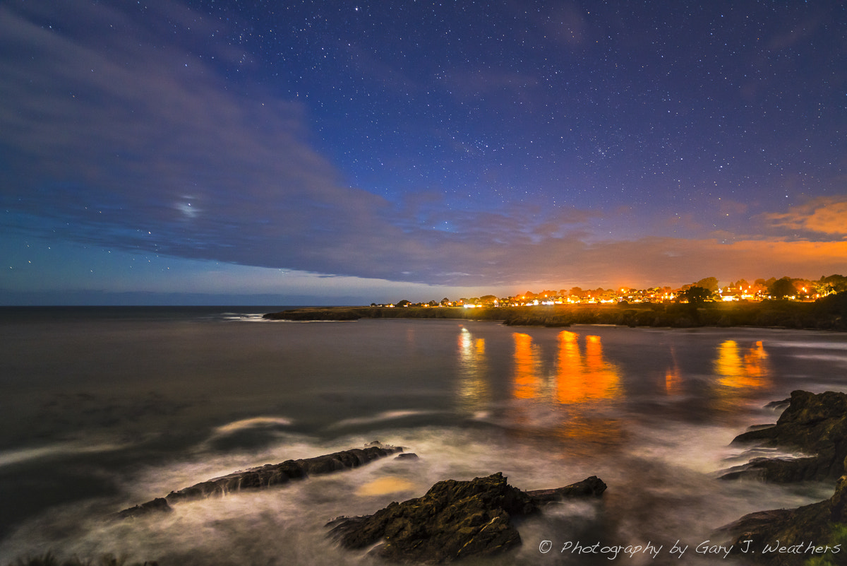 Photograph Mendocino Moonlight by Gary Weathers on 500px