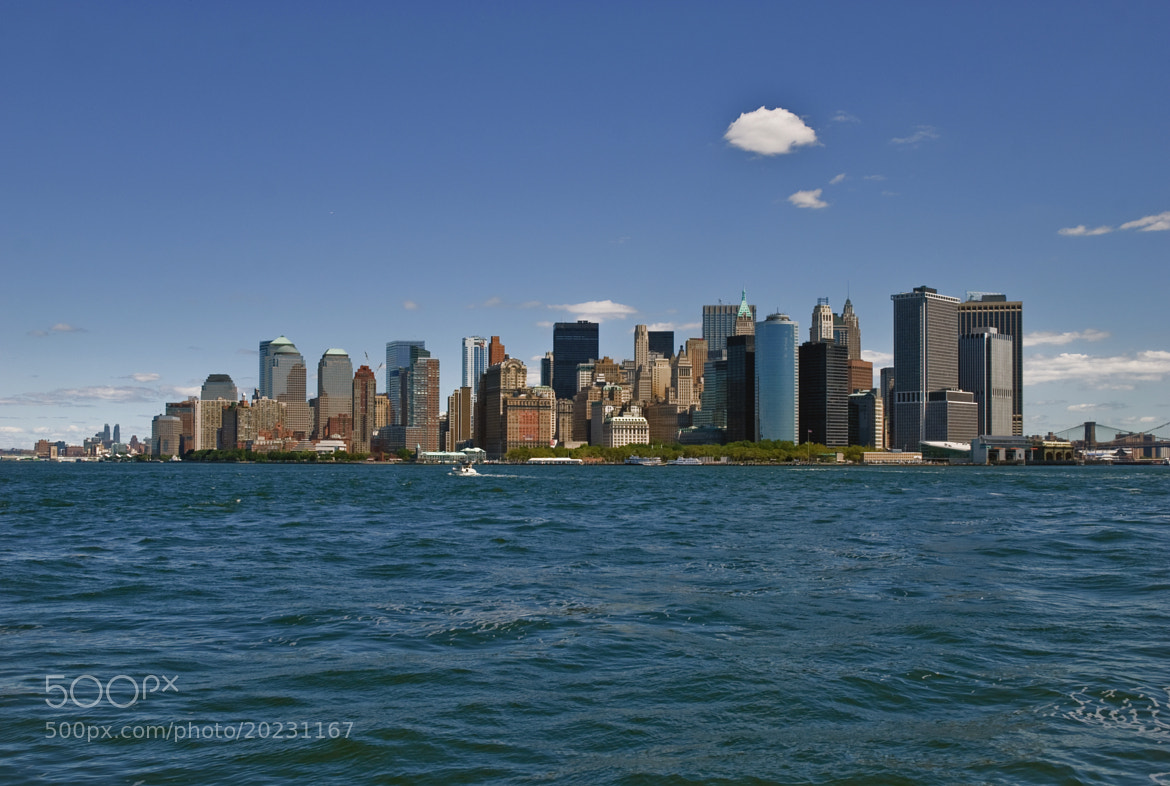 Photograph NYC - Manhattan Skyline by David Min on 500px