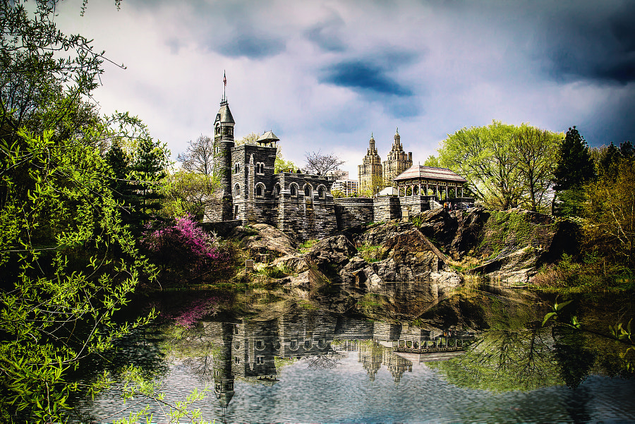 Belvedere Castle in NY