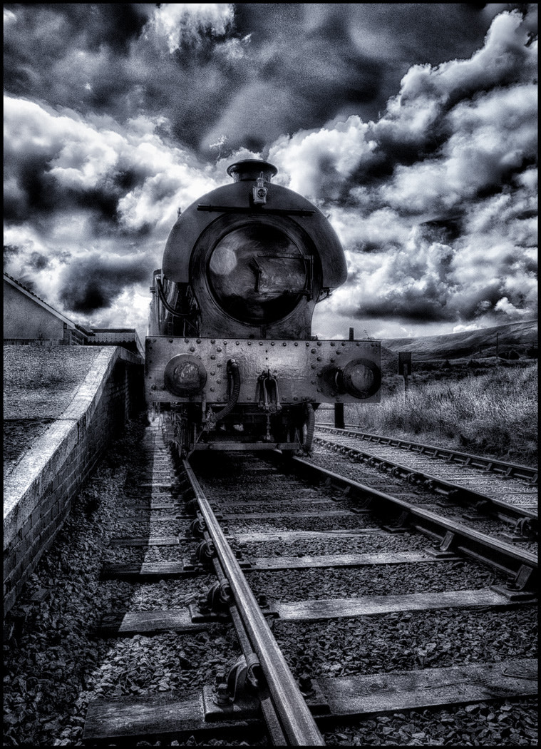 Photograph Waiting at the Station by Matthew Jones on 500px