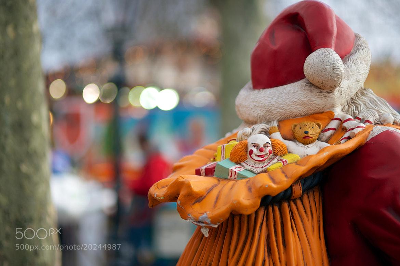 Photograph Creepy Santa Present by James Johnson on 500px