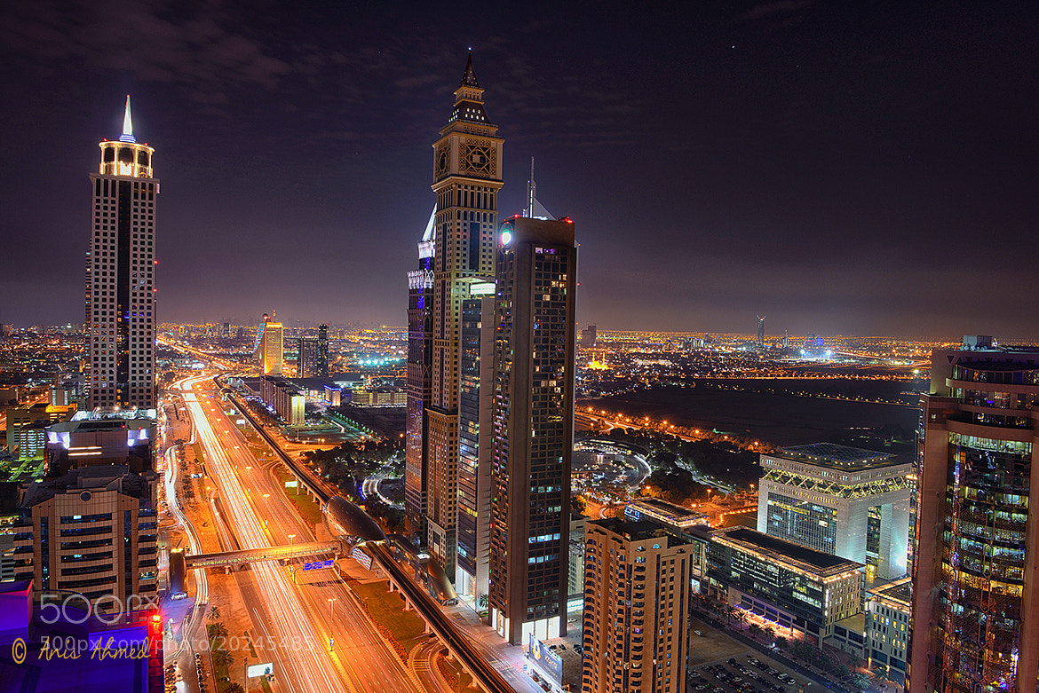 Photograph Shaikh Zayed Road by Prince Anis  on 500px
