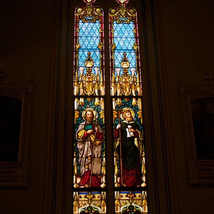 stained glass, Sony SLT-A77V, Tamron AF 28-105mm F4-5.6 [IF]