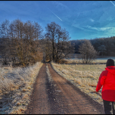 Winterwanderung Winter hiking Randonn, Nikon COOLPIX S3300