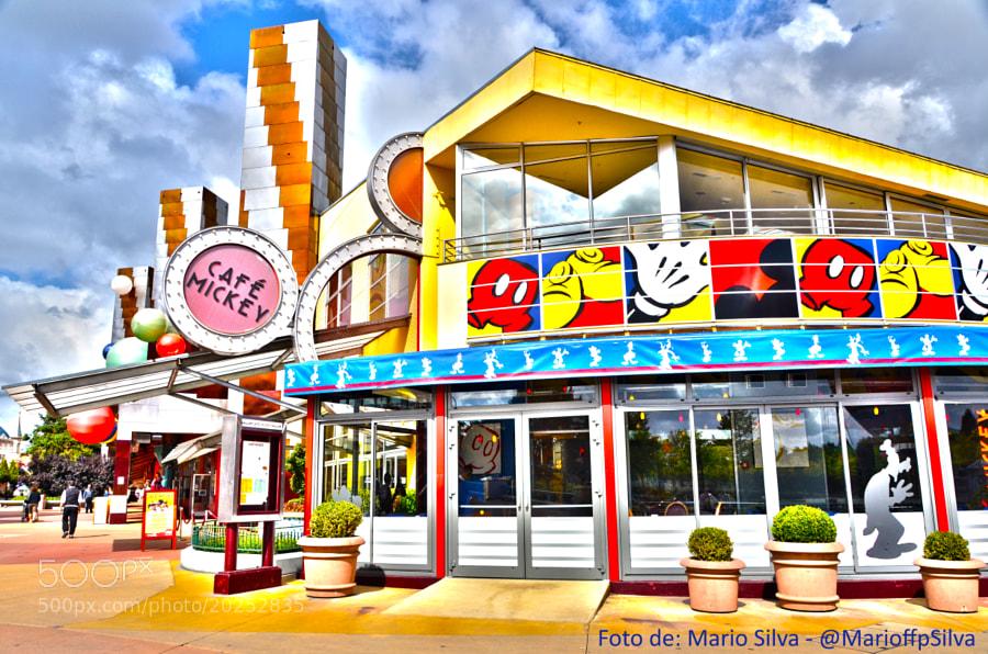 Disneyland Paris - Café Mickey by Mario Filipe  Fernandes Pinto da Silva (MarioffpSilva)) on 500px.com