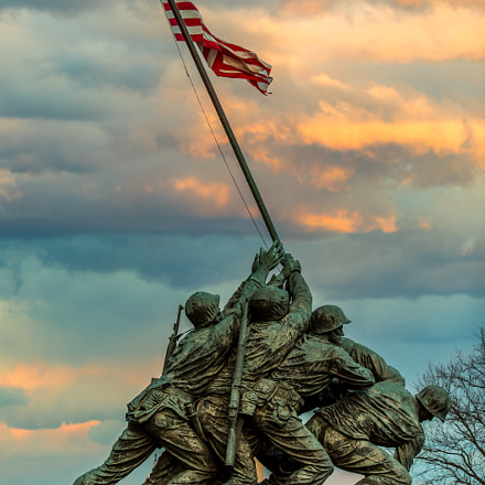 Marine Corps War Memorial, Canon EOS 5D MARK IV, Canon EF 200-400mm f/4L IS USM