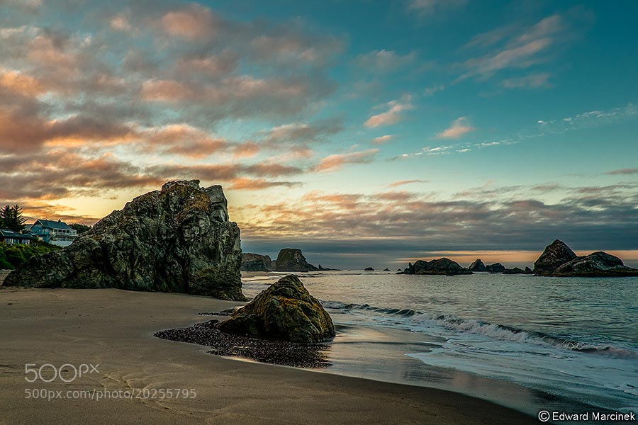 Photograph Tranquil Beach by Edward Marcinek on 500px