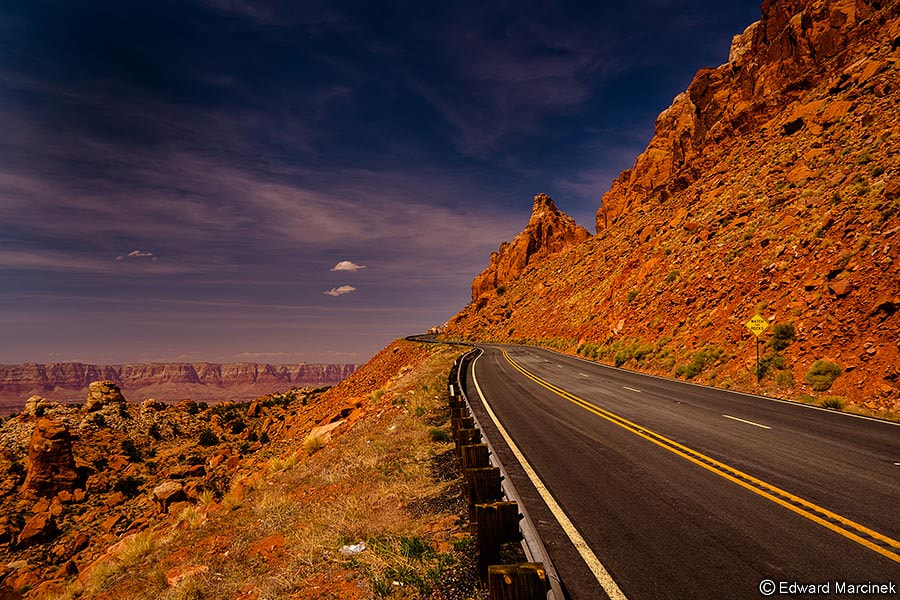 Photograph Road to Heaven by Edward Marcinek on 500px