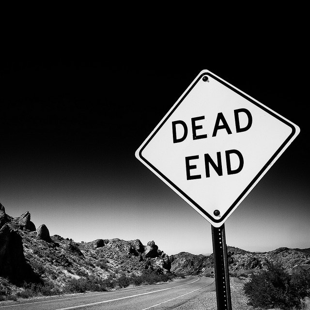 Photograph Dead End by Geoffrey Gilson on 500px