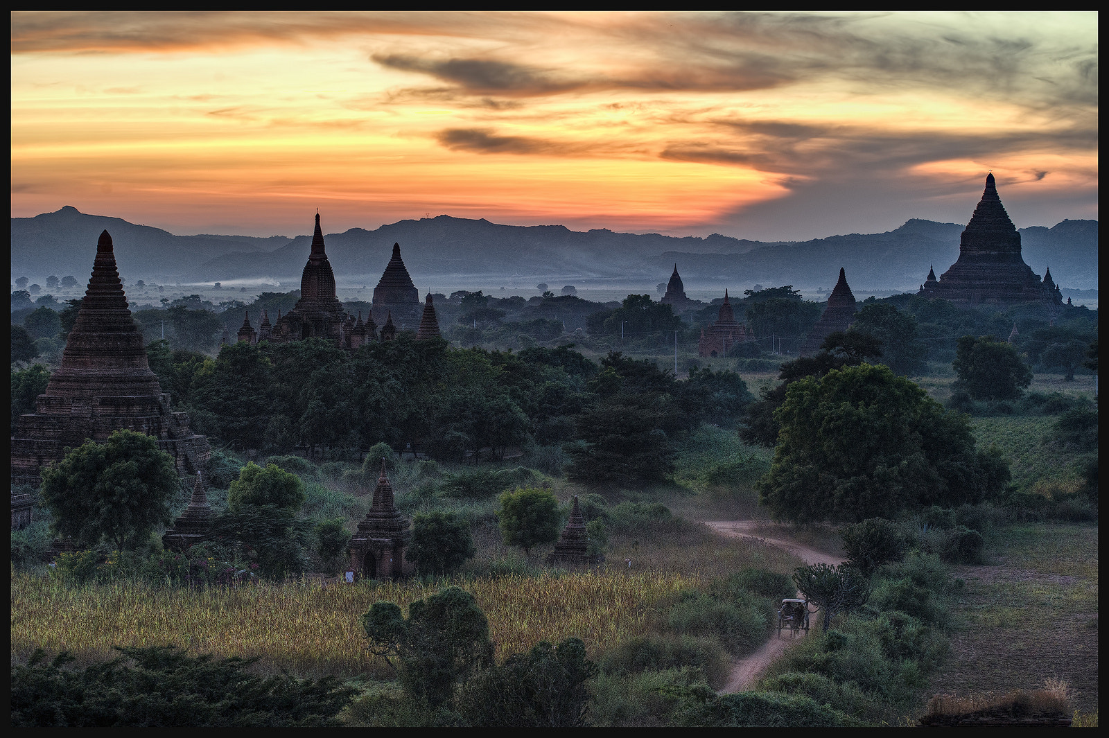 Photograph Temples Of Dusk by Jon Sheer on 500px