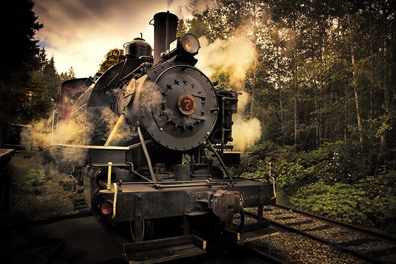 Photograph steam train by Will Datené on 500px