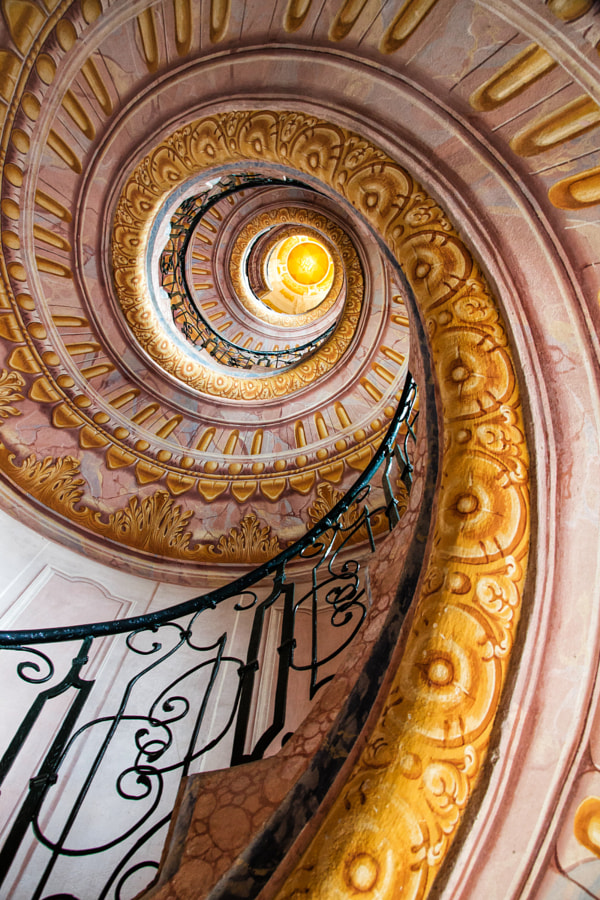 Melk Abbey Spiral