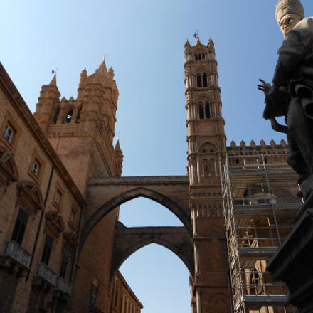 Cathedral of Palermo, Nikon COOLPIX S3100